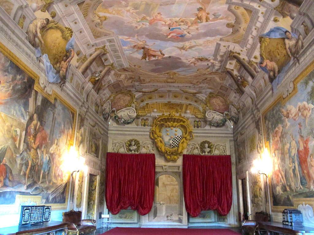 Palazzo mansi, salone