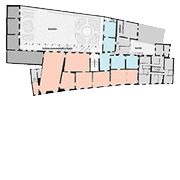 Palazzo Mansi, first floor map