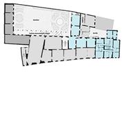 Palazzo Mansi, mappa piano primo
