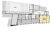 Textile collections, floor map