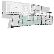 Palazzo Mansi, mappa piano secondo