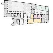 Palazzo Mansi, map ground floor