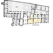 Palazzo Mansi, mappa piano terra