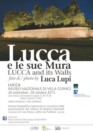 Locandina Lucca e le sue Mura